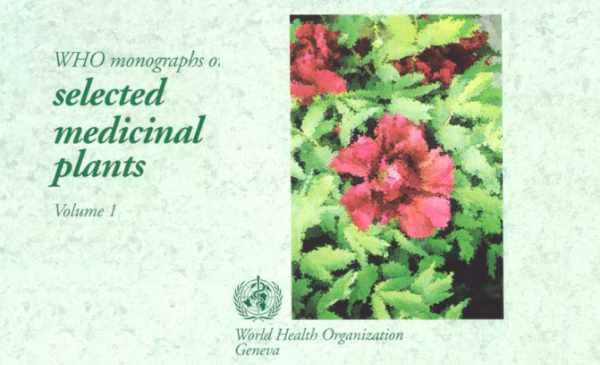 WHO Medicinal Plant Monographs